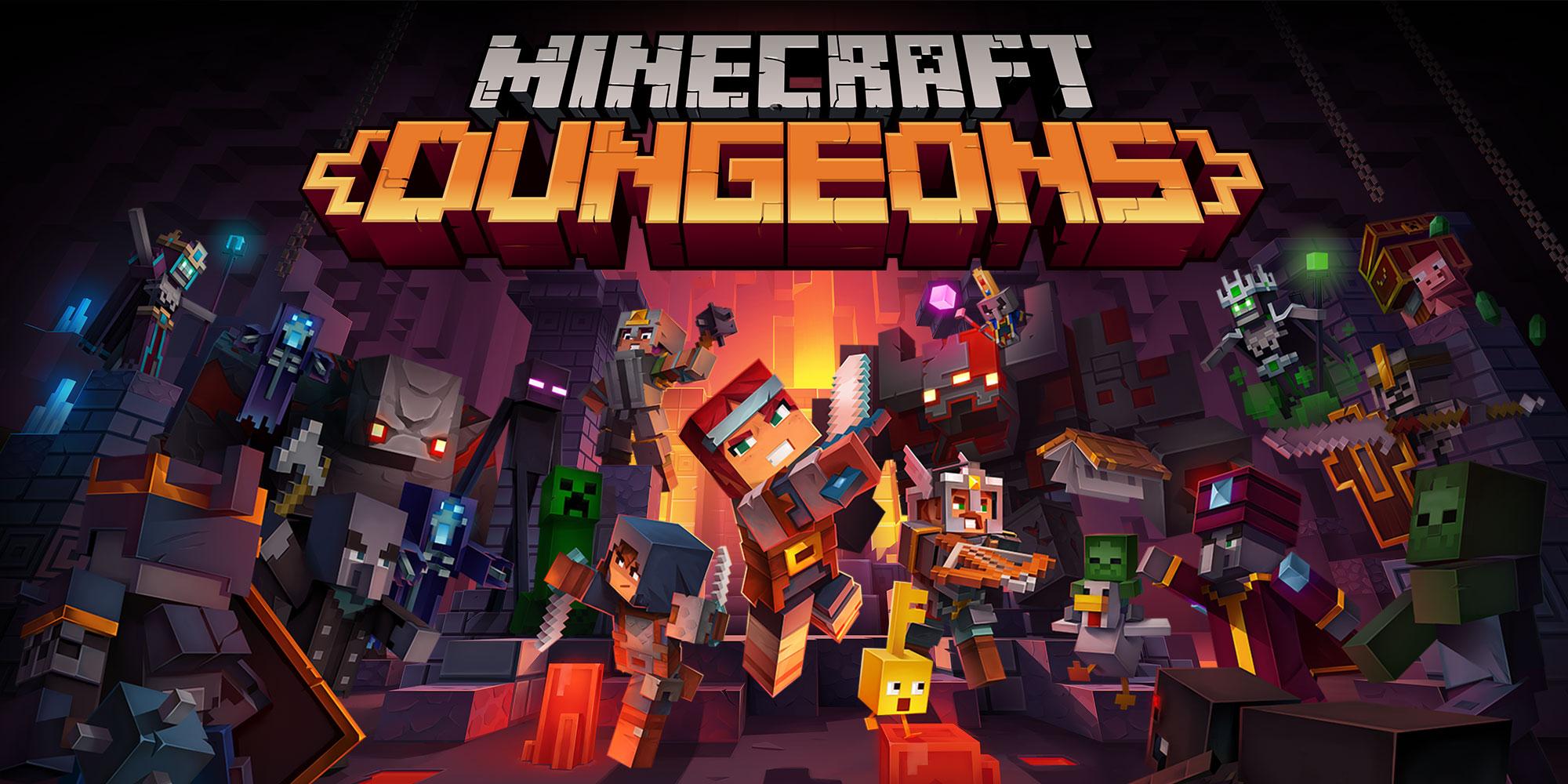 Minecraft dungeons destaque