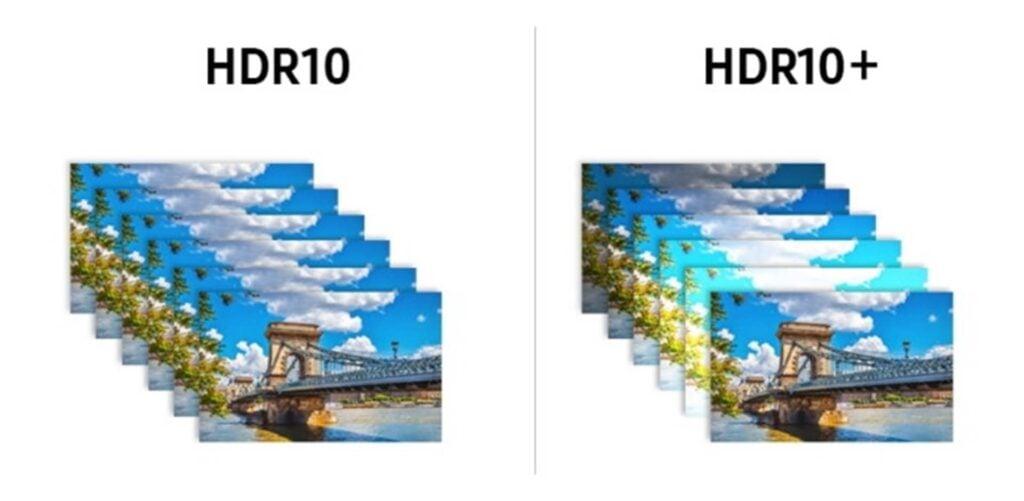 As diferenças entre o hdr10 e o hdr10+, dois modelos de tecnologia de imagens de alta qualidade.