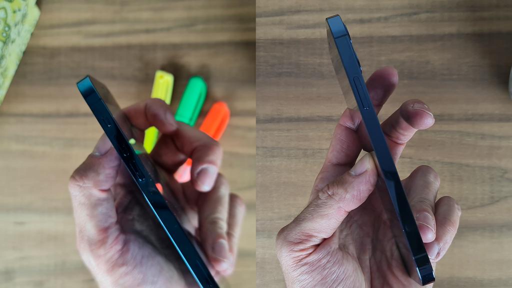 Laterais esquerda e direita iphone 12 pro