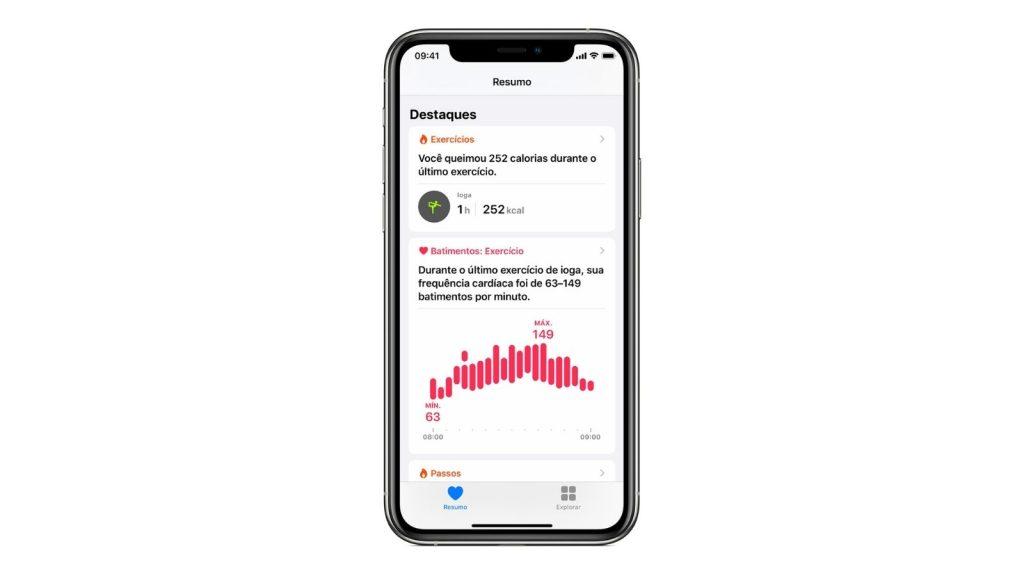 App saúde, uma das dicas e truques para iphone 12