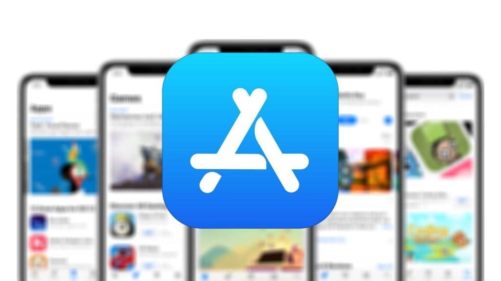 Logo da app store da apple