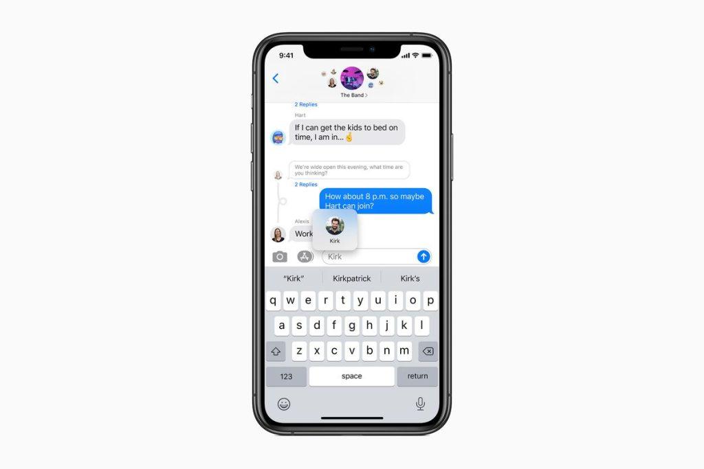 Thread de mensagens, uma das dicas e truques para iphone 12