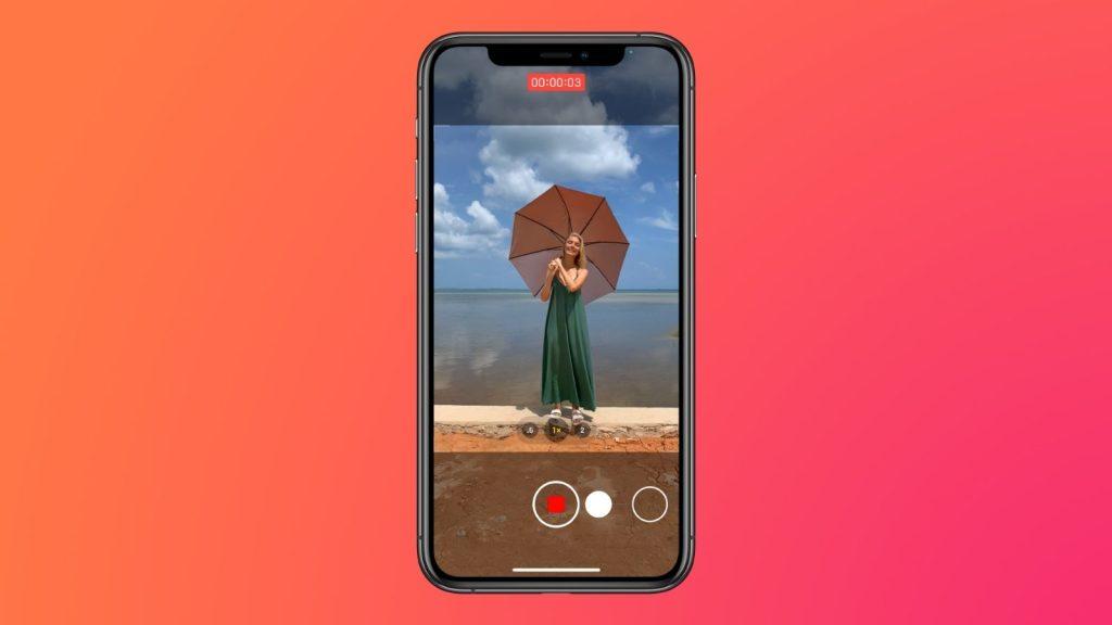 Modo foto com gravação de vídeo, que é uma das dicas e truques para iphone 12