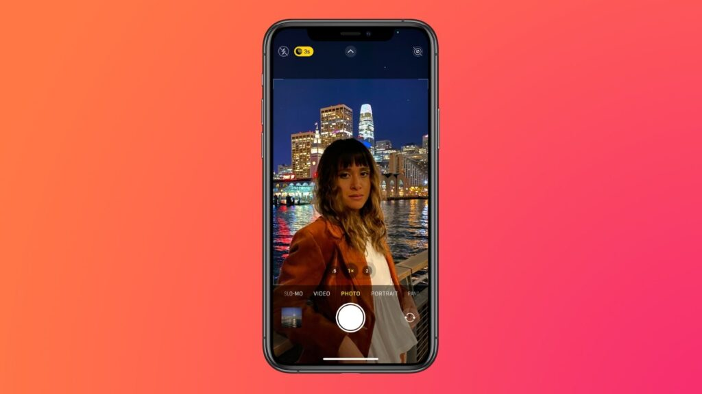 Câmera do iphone com modo noite, que é uma das dicas e truques para iphone 12