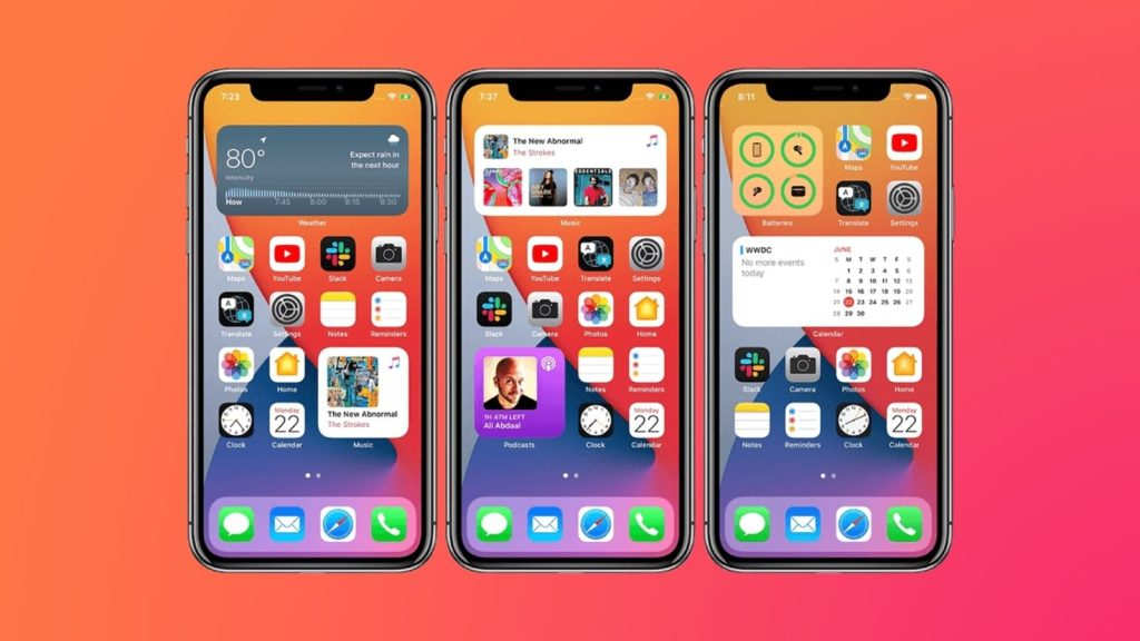 Iphone com widgets, que é uma das dicas e truques para iphone 12