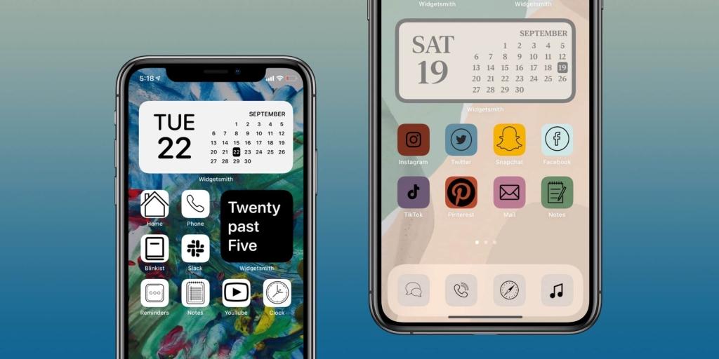 Ícones personalizados, que é uma das dicas e truques para iphone 12