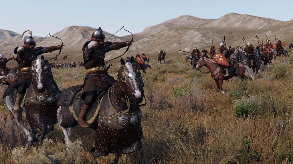 Batalha medieval com o uso de rtx