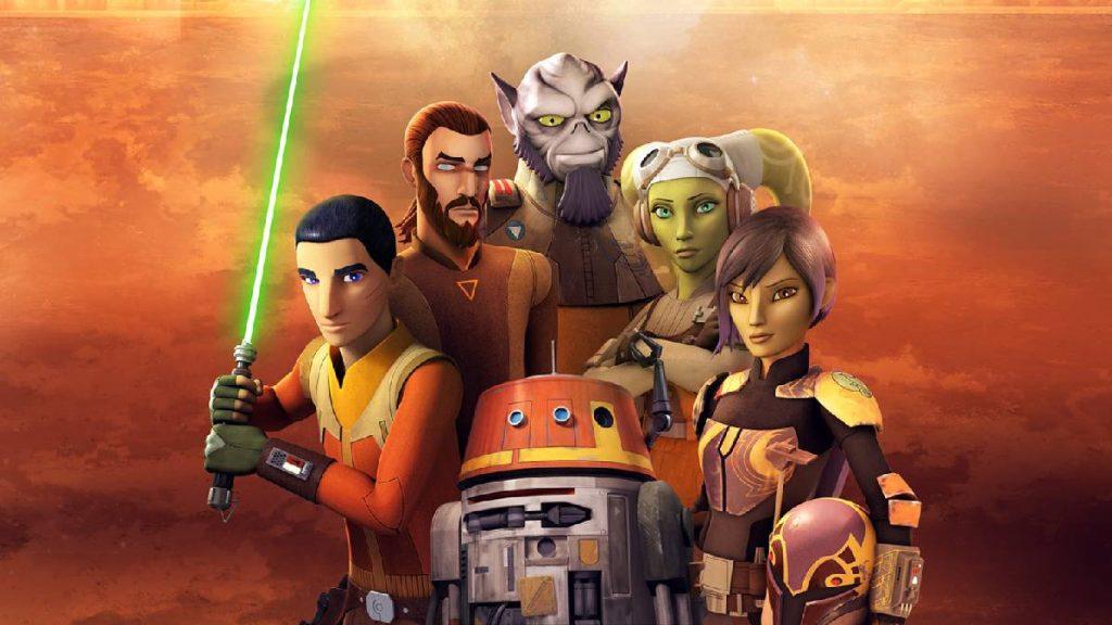 Personagens de star wars rebels