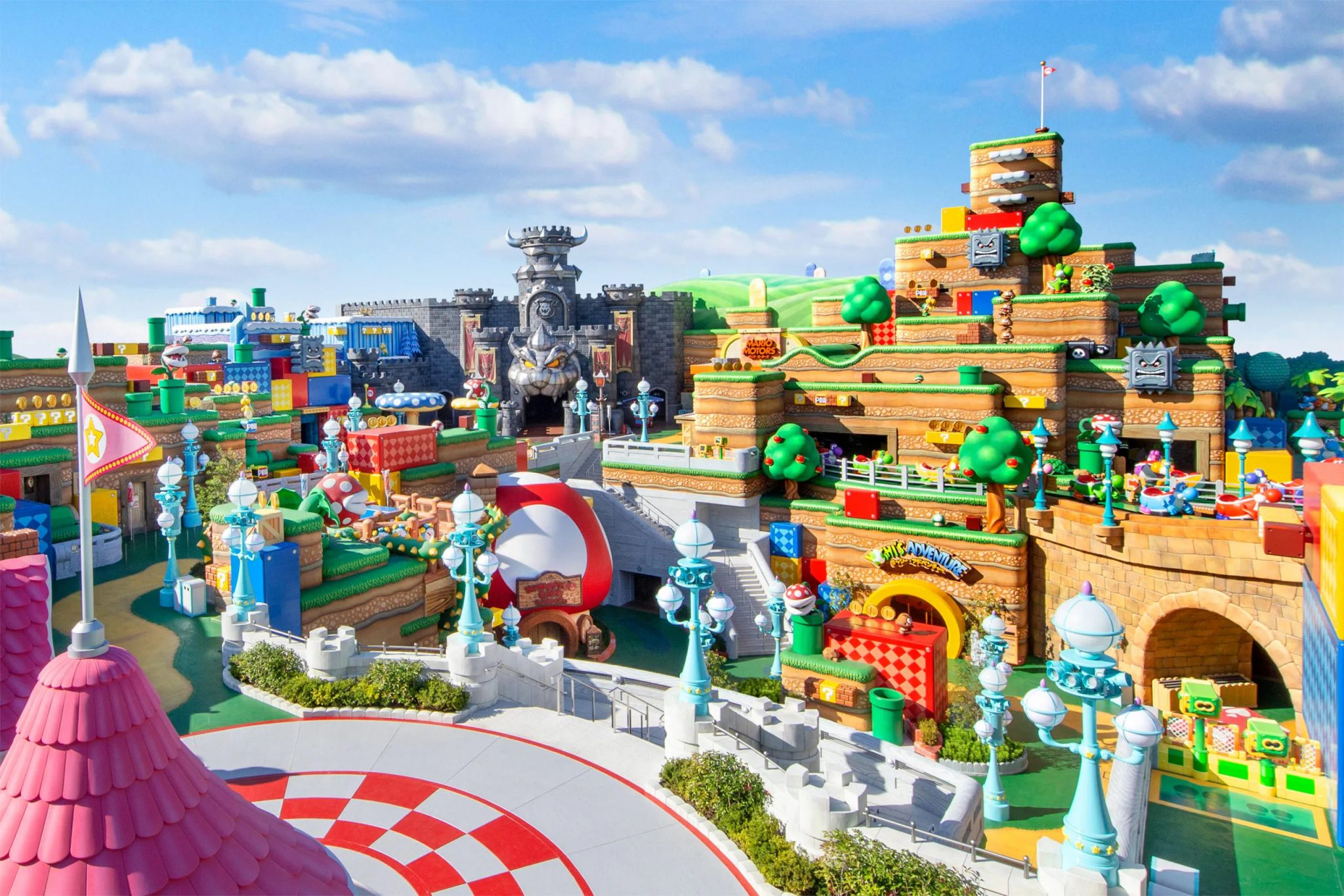 Super nintendo world destaque