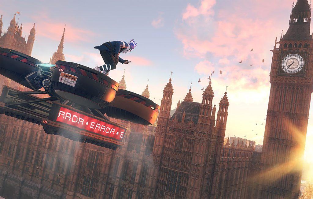 Voando em um drone de transporte em Londres