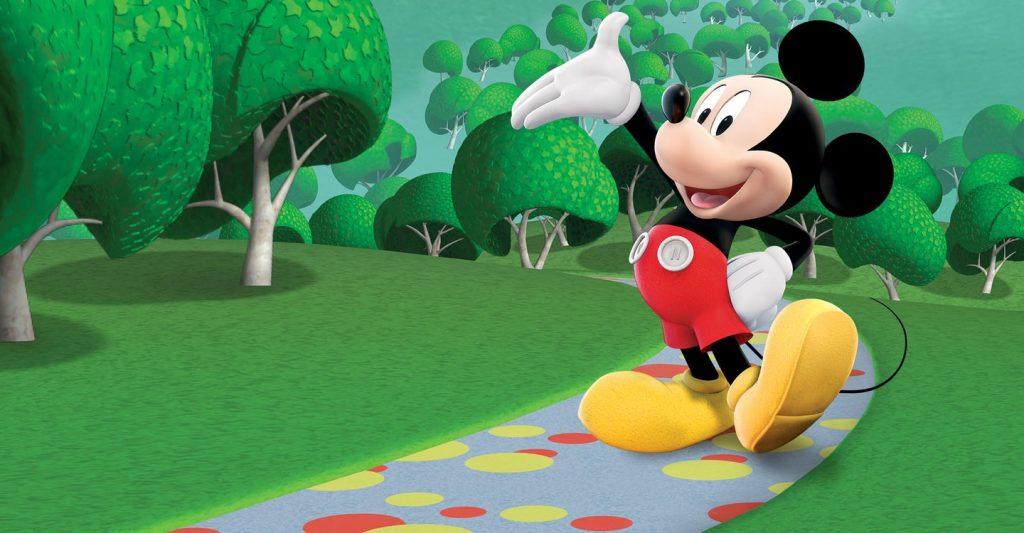 Mickey em programa infantil
