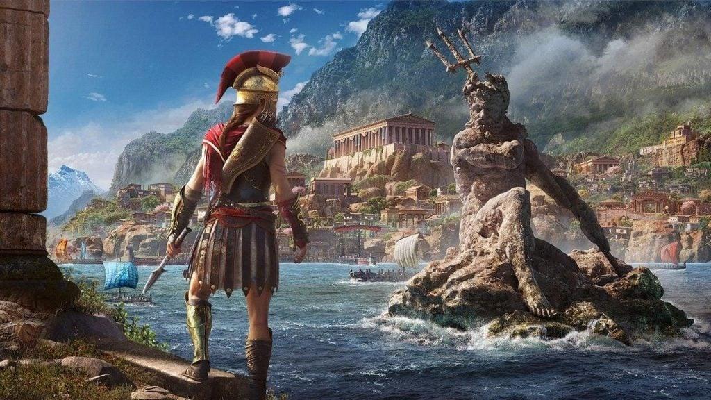 Alexios em assassin's creed odyssey