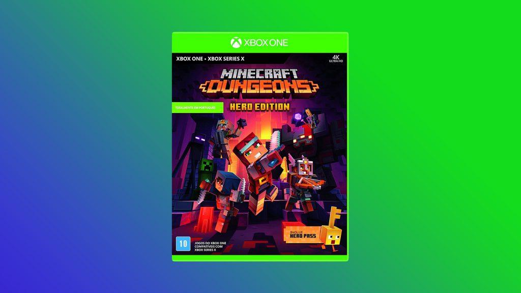 Jogos na black friday minecraft dungeons - hero edition