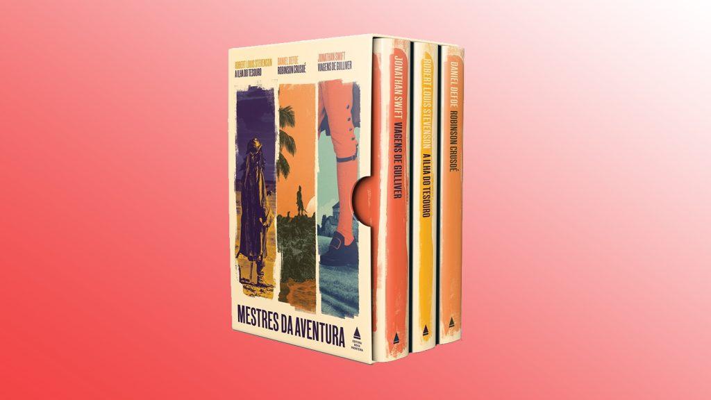 Livros na black friday mestres da aventura (box)