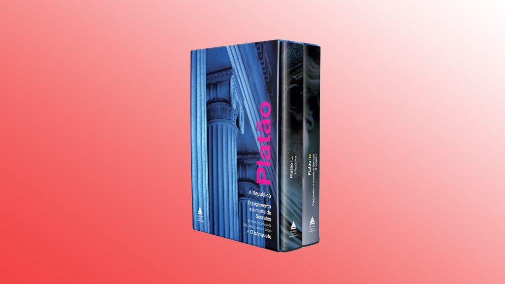 Livros na black friday platão (box)