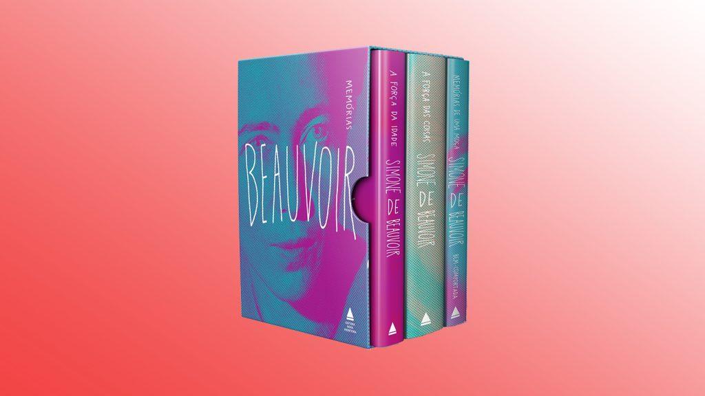 Livros na black friday memórias de simone de beauvoir (box)