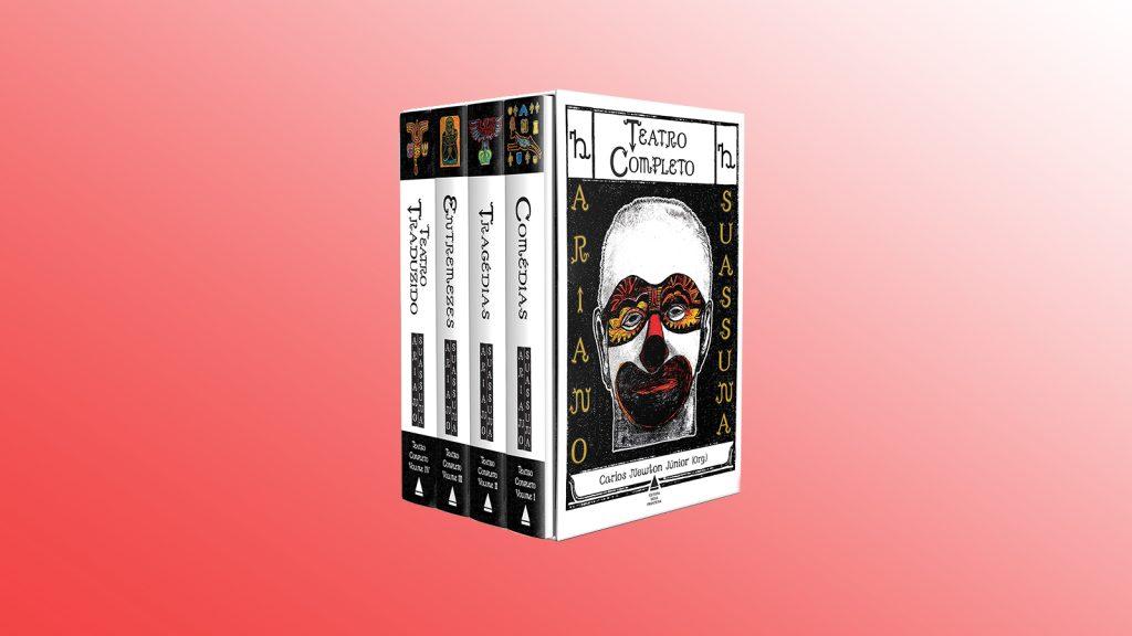 Livros na black friday teatro completo de ariano suassuna (box)