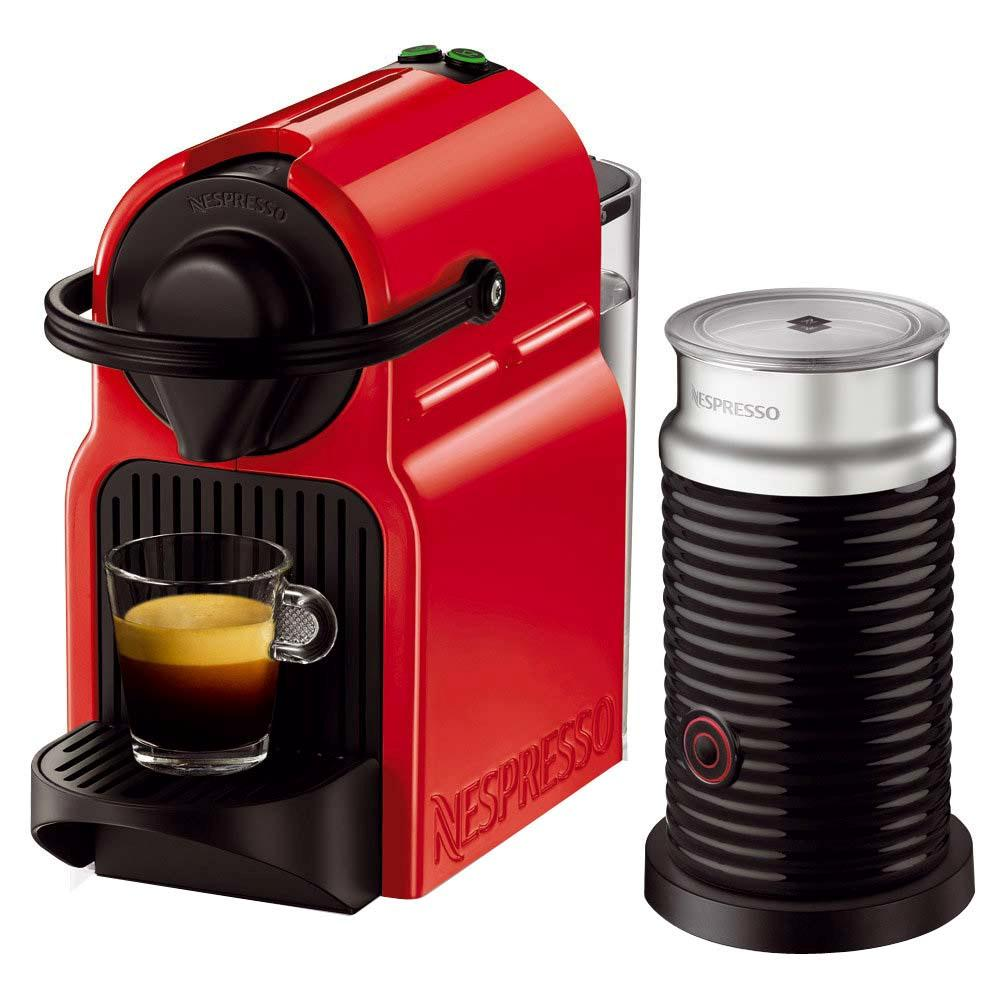 Cafeteira rub red inissia nespresso eletrodomésticos na black friday