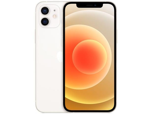 Modelo branco do iphone 12 disponível no programa do itaú
