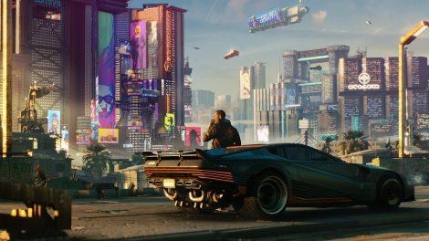 Imagem de Cyberpunk 2077, que fica melhor com placas de vídeo que estão em promoção na Black Friday NVIDIA