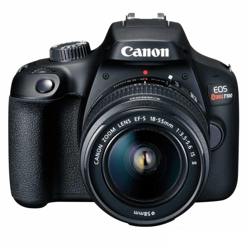 Canon eos rebel t100 é uma das melhores câmeras na black friday