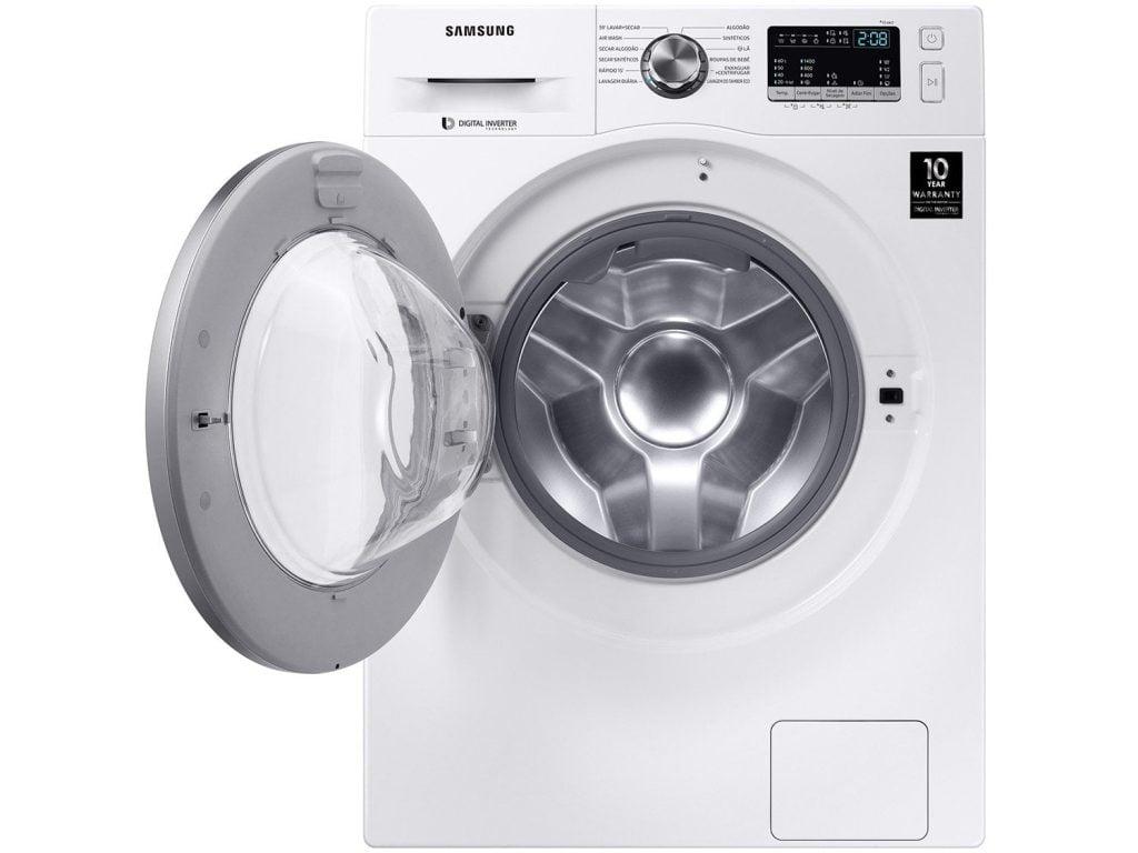 Samsung wd4000 com lavagem a seco eletrodomésticos na black friday
