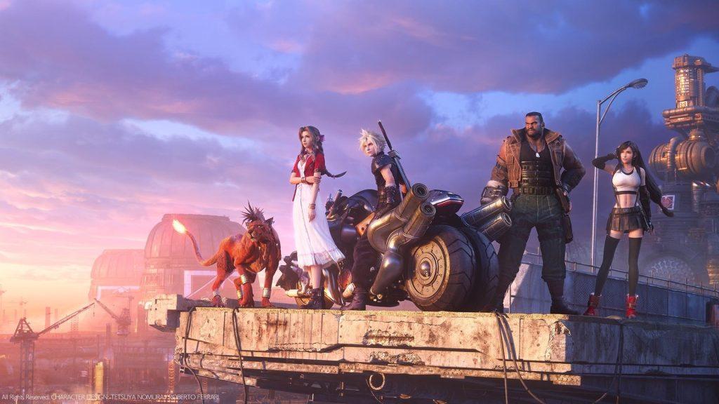 Final fantasy vii remake é indicado ao the game awards
