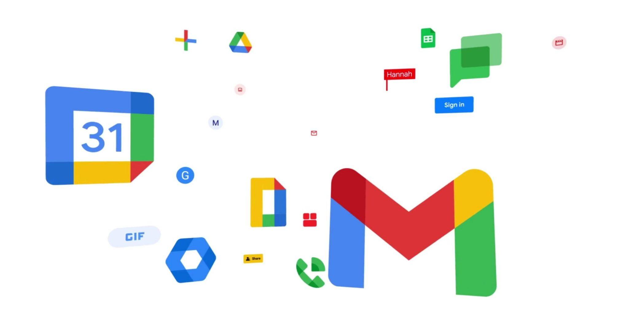 Soluções empresariais google workspace