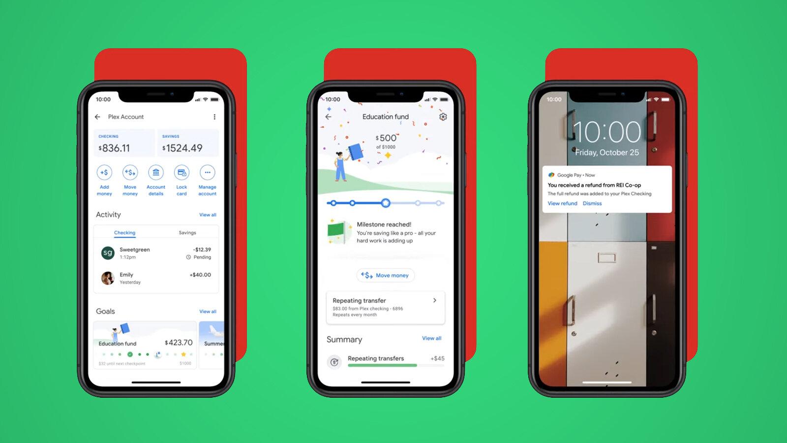 Google lança conta digital em parceria com o citibank. Além de atualizações no app google pay, a empresa anunciou a conta digital plex, uma forma de ajudar no controle de economias em 2021