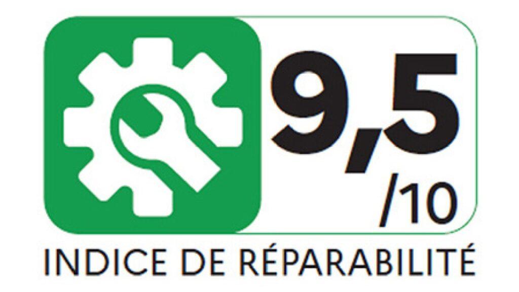 Rótulo do índice de reparabilidade