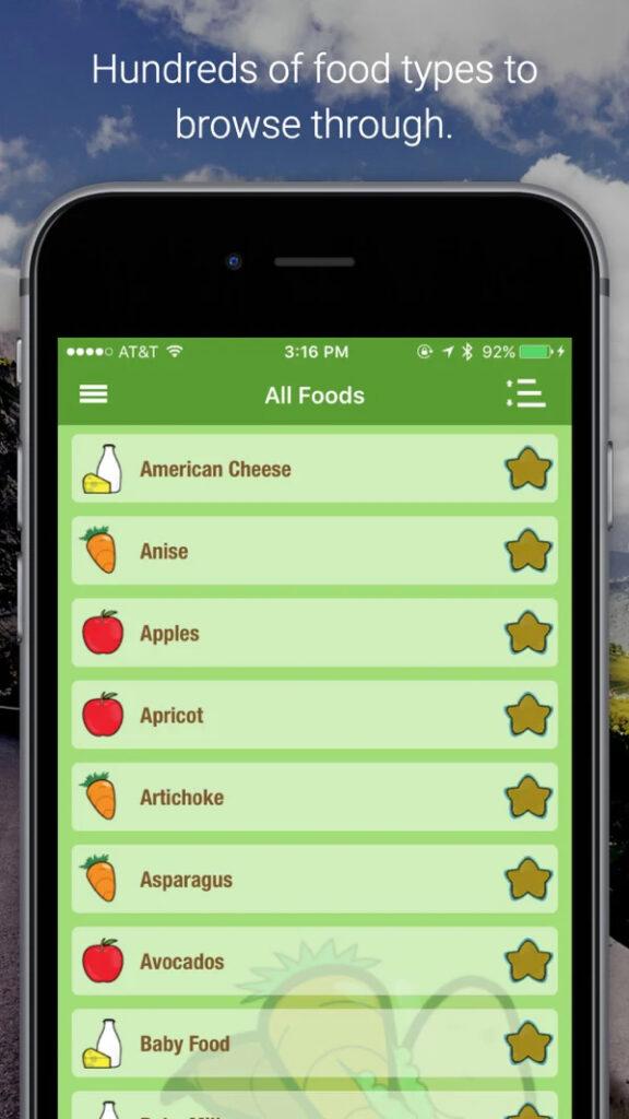 Captura de tela do aplicativo ikibble