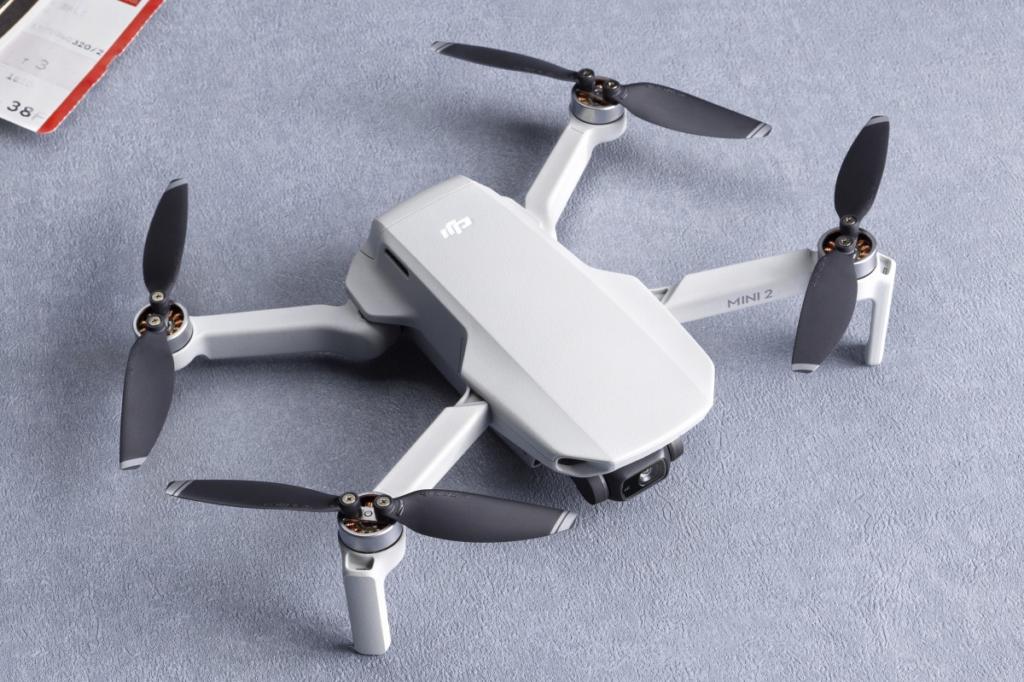 DJI Mini 2, novo drone compacto com vídeos em 4K