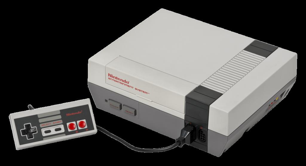 A aparência do nes é mais futurista, muito disso se deu para não se parecer tanto com um video game, já que a indústria estava deteriorada naquele período.