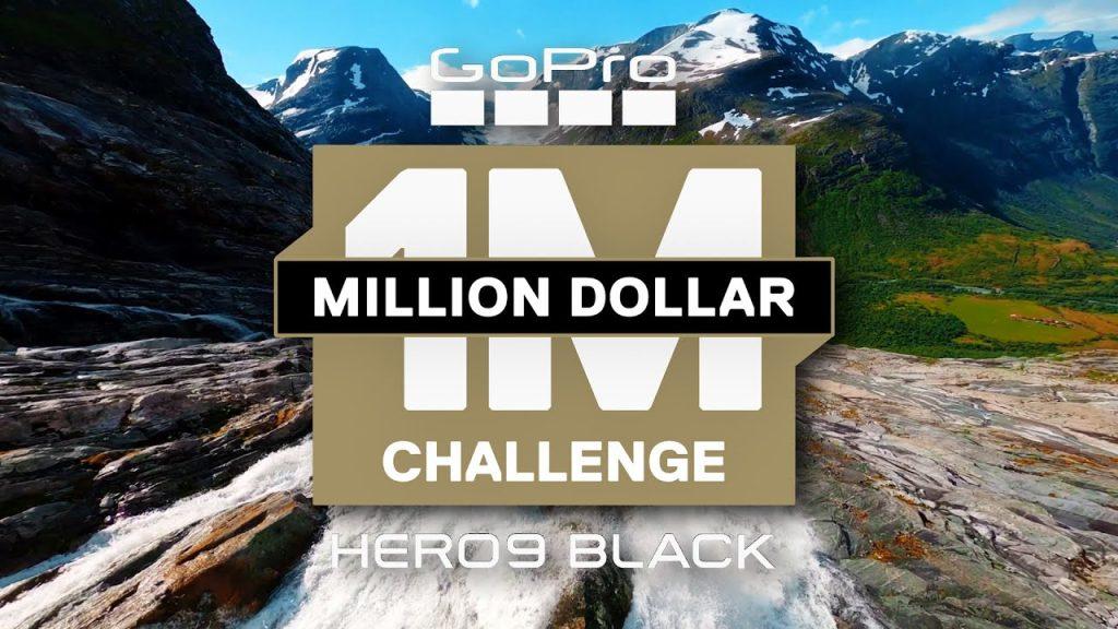 Capa do million dollar challenge de 2020 da gopro