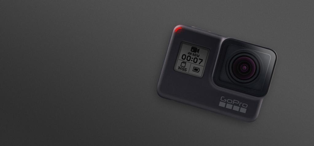 Gopro hero 7 black  é uma das melhores câmeras na black friday