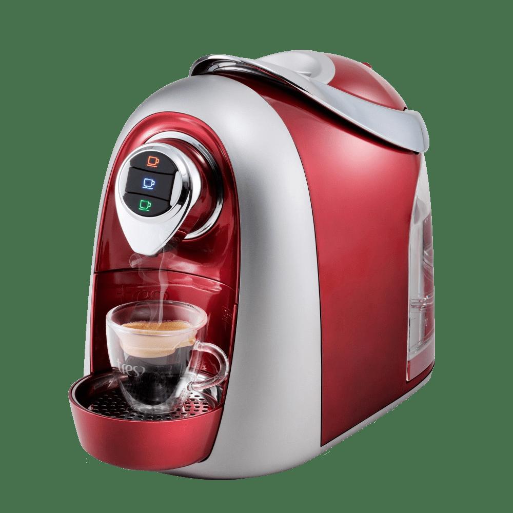 A cafeteira expresso modo vermelha eletrodomésticos na black friday