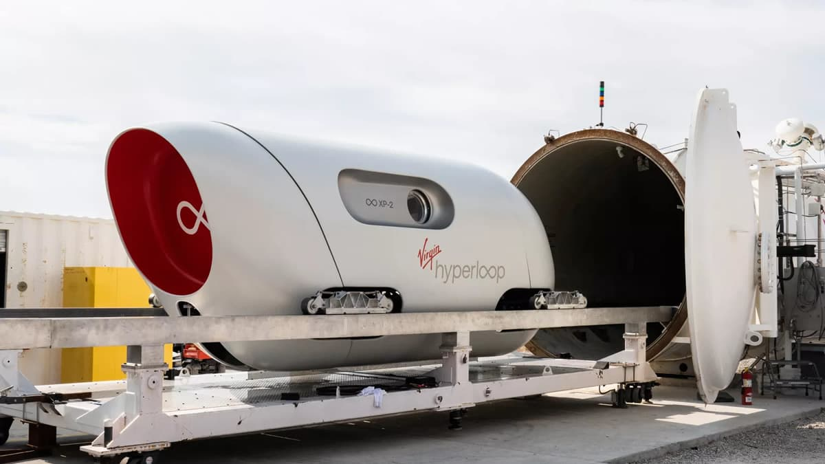 Teste do hyperloop destaque