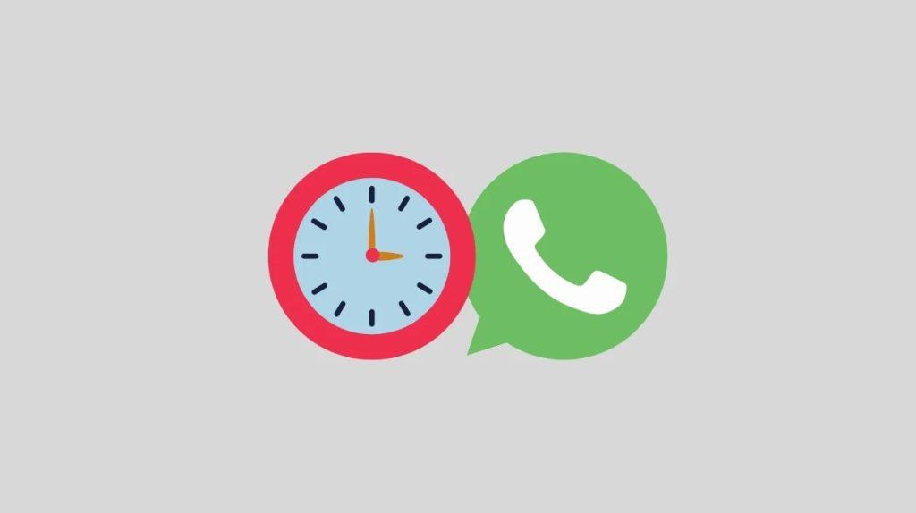 Montagem sobre mensagens temporárias no whatsapp