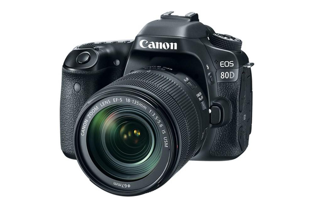 Câmera eos 80d