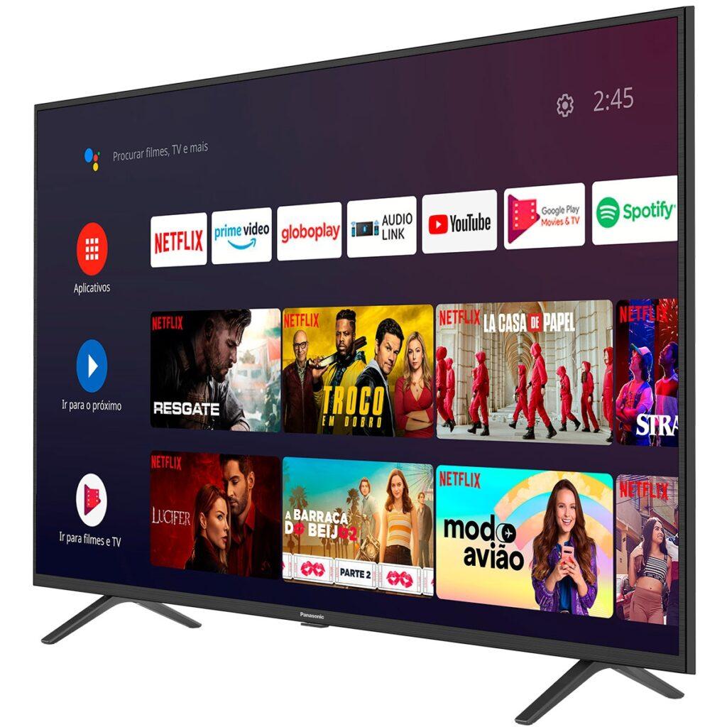 Smarttv de 50 polegadas com android tv