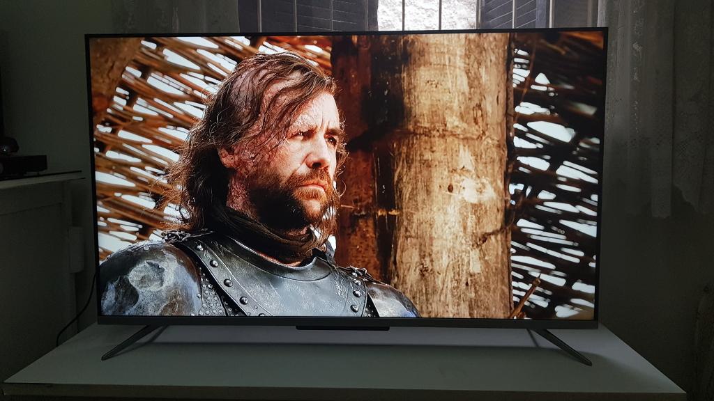 Imagem de game of thrones capturada na televisão p715 da tcl