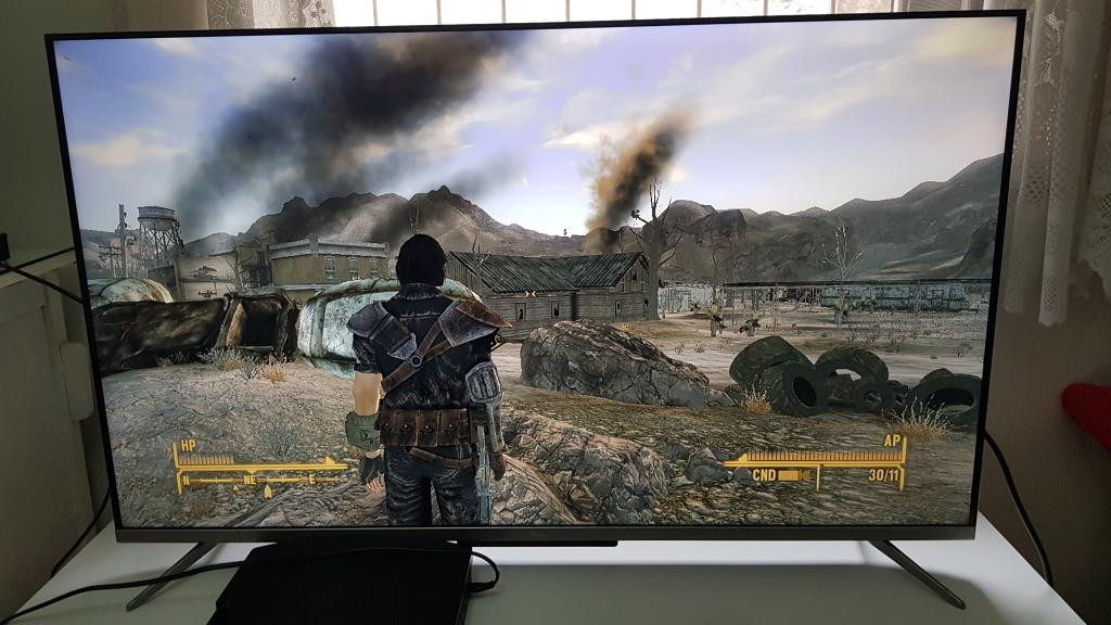 Fallout new vegas em alta resolução na p715 da tcl