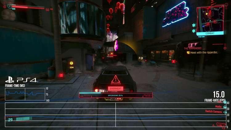 Cyberpunk 2077 jogo no playstation 4