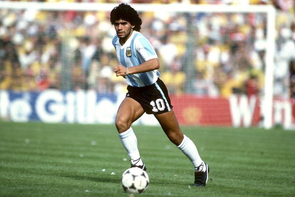 Diego maradona nas pesquisas do google