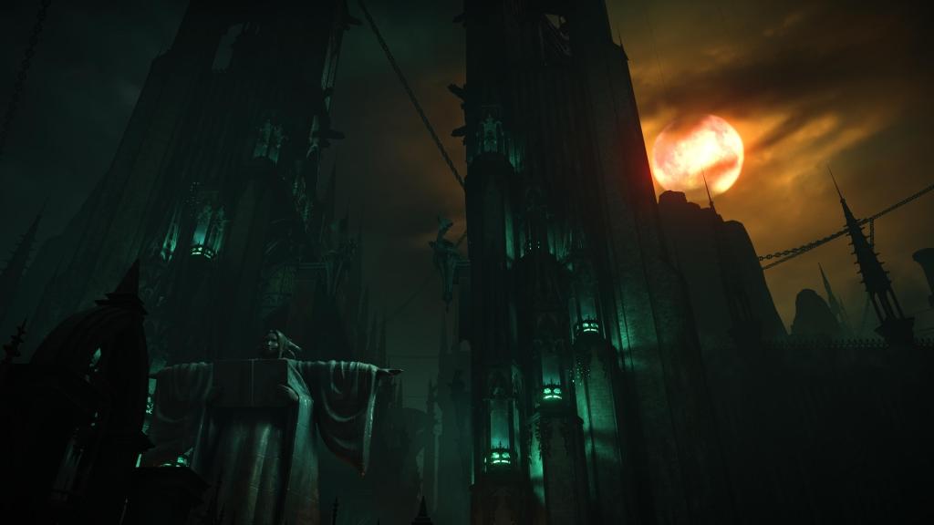 Imagem da torre de latria e da armadilha de flechas.