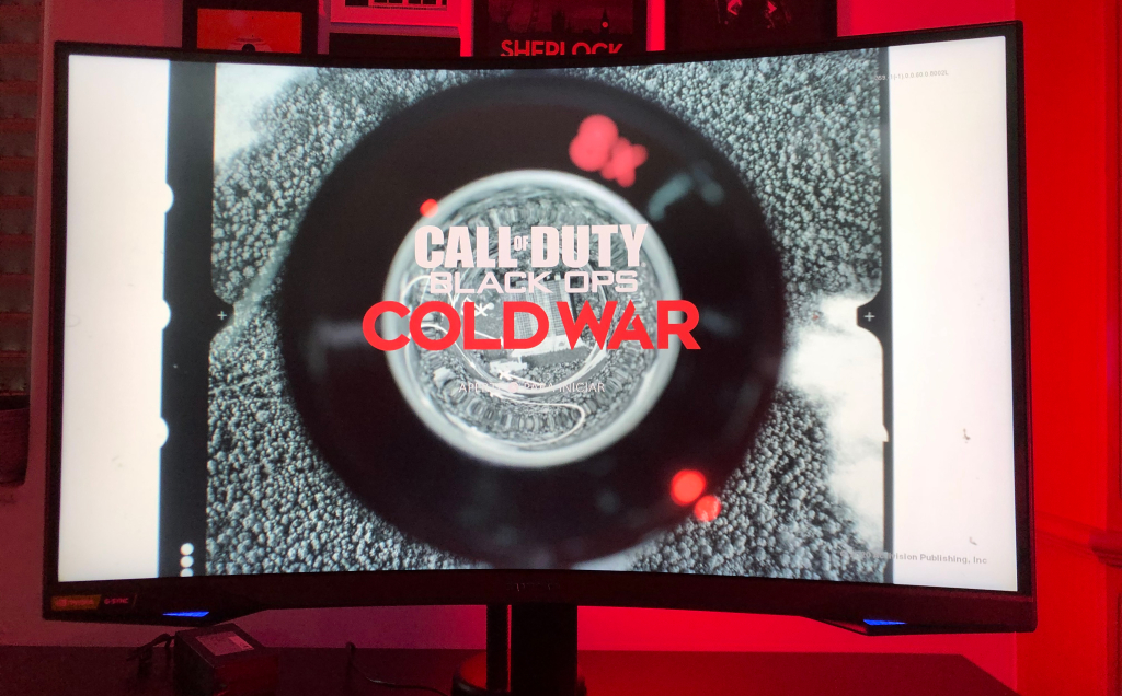 Call of duty black ops cold war no monitor samsung odyssey g7