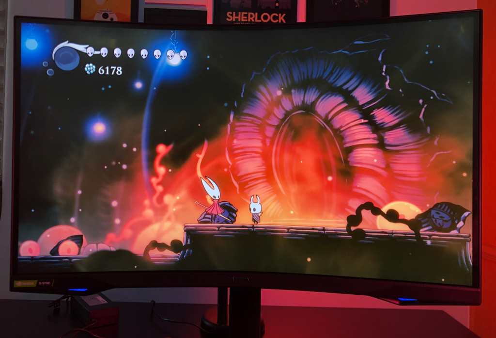 Hollow knight no monitor samsung odyssey g7