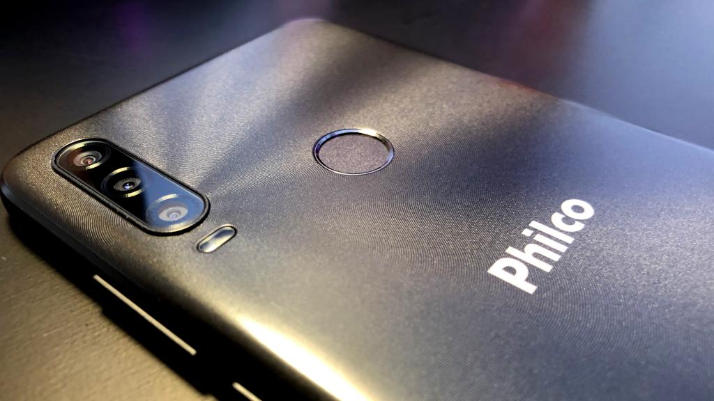 Sistema triplo de câmeras philco hit p10