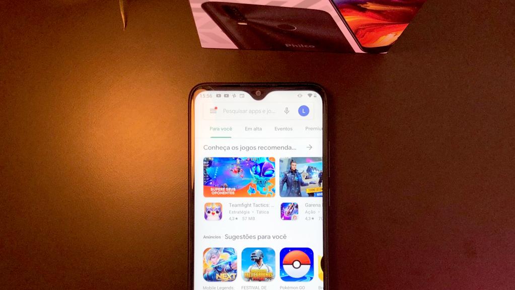Tela ips 6,2 polegadas phico hit p10