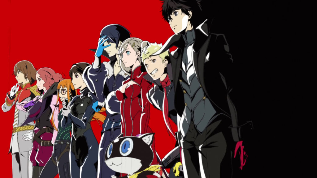 Personagens de persona 5 royal